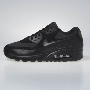 Sneakers buty Nike Air Max 90 Essential black / black-black-black 537384-090