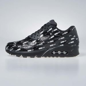 Sneakers buty Nike Air Max 90 Premium black (700155-015)