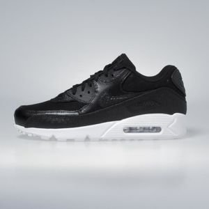 Sneakers buty Nike Air Max 90 Premium black / black - white 700155-008