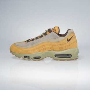 Sneakers buty Nike Air Max 95 Premium bronze / baroque brown-bamboo 538416-700