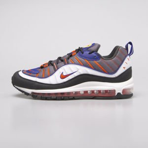 Sneakers buty Nike Air Max 98 gunsmoke / team orange (640744-012)