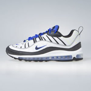 Sneakers buty Nike Air Max 98 white / black-racer blue-volt (640744-103)