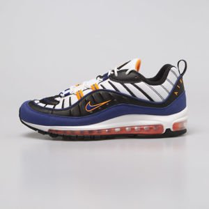 Sneakers buty Nike Air Max 98 white / deep royal blue (CD1536-100)