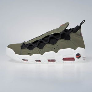 Sneakers buty Nike Air More Money medium olive/black (AJ2998-200)