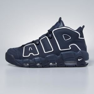 Sneakers buty Nike Air More Uptempo '96 obsidian / obsidian - white 921948-400