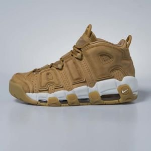 Sneakers buty Nike Air More Uptempo Premium flax / flax-phantom AA4060-200