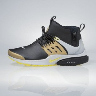 Sneakers buty Nike Air Presto Mid Utility black / yellow streak 859524-002