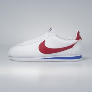 Sneakers buty Nike Classic Cortez Leather white / varsity red 749571-154
