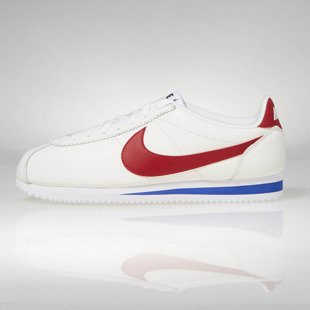 Sneakers buty Nike Classic Cortez SE white / varsity red 902801-100