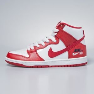 Sneakers buty Nike SB Dunk High Pro university red / university red 854851-661