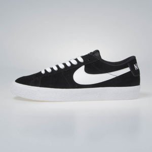 Sneakers buty Nike SB Zoom Blazer Low black/white-gum light brown (864347-019)