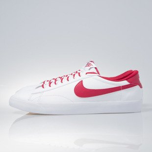 Sneakers buty Nike Tennis Classic AC white / gym red-gum med brown (377812-122)