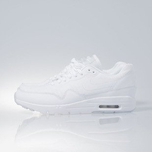 Sneakers buty Nike WMNS Air Max 1 Ultra Essentials white / white-purple platinum (704993-103)