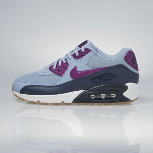 Sneakers buty Nike WMNS Air Max 90 Essential blue grey / bright grape 616730-403