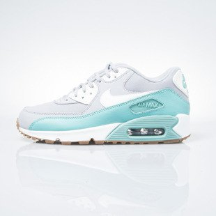Sneakers buty Nike WMNS Air Max 90 Essential wolf grey / barely green (616730-032)