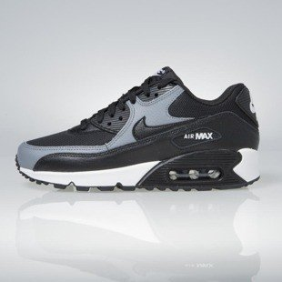 Sneakers buty Nike WMNS Air Max 90 black / black - cool grey - black 325213-037