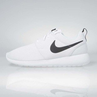 Sneakers buty Nike WMNS Roshe One white / white-black 844994-101