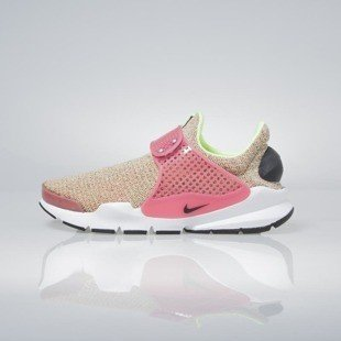 Sneakers buty Nike WMNS Sock Dart Se ghost green / black-hot punch 862412-301