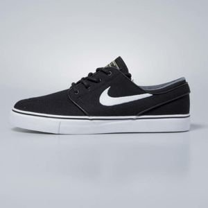 Sneakers buty Nike Zoom Stefan Janoski CNVS black / white - gum light brown 615957-028