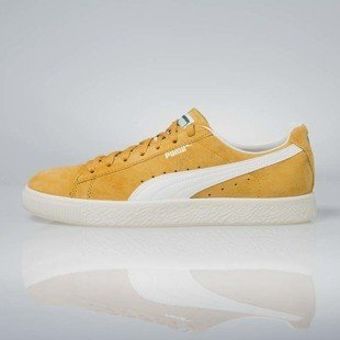 Sneakers buty Puma Clyde Premium Core Artisan gold / whisper white352634-77