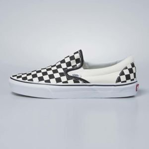 Sneakers buty Vans Classic Slip-On black and white checkerboard / white VN000EYEBWW