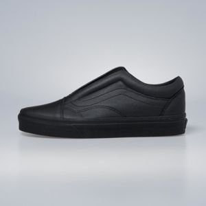 Sneakers buty Vans Old Skool Laceless (Leather) black VN0A3DPCL3A