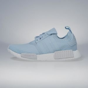 Sneakers buty damskie Adidas Originals NMD_R1 PK ice blue / ice blue / footwear white BY8763