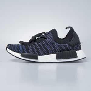 Sneakers buty damskie Adidas Originals NMD_R1 STLT PK core black / ash pink / noble indigo AC8326