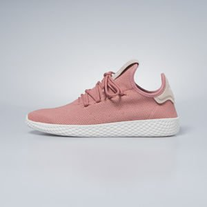Sneakers buty damskie  Adidas Originals Pharrell Williams Tennis HU ash pink / ash pink / chalk white DB2552