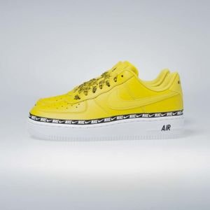Sneakers buty damskie Nike Air Force 1 '07 SE PRM bright citron (AH6827-700)