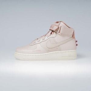 Sneakers buty damskie Nike Air Force 1 High Utility particle beige (AJ7311-200)