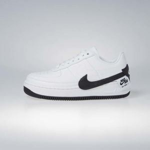 Sneakers buty damskie Nike Air Force 1 Jester XX white / black (AO1220-102)