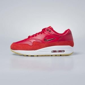 Sneakers buty damskie Nike Air Max 1 Premium SC gym red / gym red - speed red AA0512-602