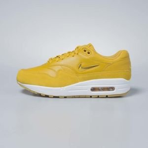 Sneakers buty damskie Nike Air Max 1 Premium SC mineral yellow / mineral yellow AA0512-700