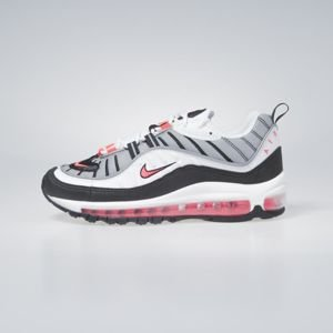 Sneakers buty damskie Nike Air Max 98 white/solar red-dust AH6799-104