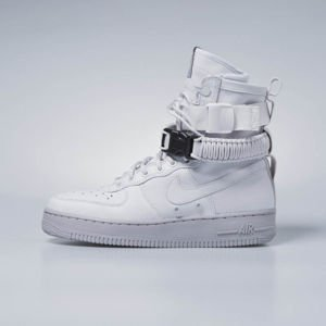Sneakers buty damskie Nike SF Air Force 1 vast grey / vast grey 857872-003