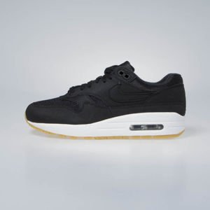 Sneakers buty damskie Nike WMNS Air Max 1 black/black-gum light brown (319986-037)