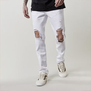 Spodnie Cayler & Sons All Day Heavy Cut Denim Pants white