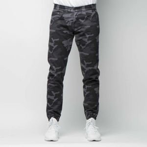 Spodnie Mass Denim Base Joggers Sneaker Fit black camo