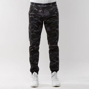 Spodnie Mass Denim Classics Joggers Chino Sneaker Fit black camo