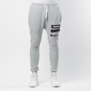 Spodnie dresowe Mass Denim Trace Joggers Sweatpants light heather grey