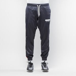 Spodnie dresowe Mass Denim Trackpants Stripe navy / red QUICKSTRIKE