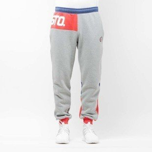 Spodnie dresowe Prosto Klasyk Sweatpants Patch Quasi gray