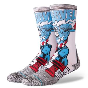 Stance skarpety Captain America Comic grey M545D18CAA
