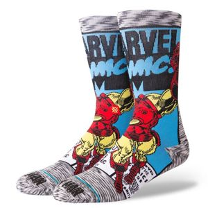 Stance skarpety Iron Man Comic grey M545D18IRO
