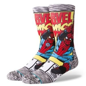 Stance skarpety Spiderman Comic grey M545D18SPI