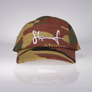 Stoprocent czapka 5-panel 5P 5Pannel Tag moro