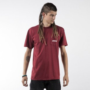 Stussy koszulka t-shirt Shift PKT dark red