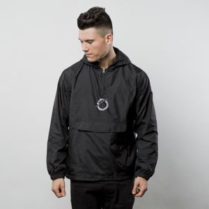 Stussy kurtka Nylon Pop Over Jacket black