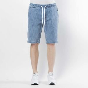 Szorty Mass Denim Campus Shorts Jeans straight fit light blue